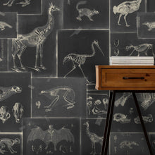 Load image into Gallery viewer, Zooarchaeology Anthracite Wallpaper