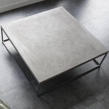 Load image into Gallery viewer, Perspective Square Concrete Coffee Table