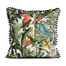 Load image into Gallery viewer, Parrots of Brazil Cushion
