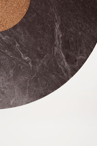 Sintra Dining Table | Black Marble
