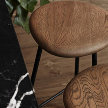 Load image into Gallery viewer, Pebble Stool Oak|Black