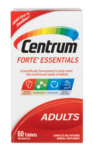 Load image into Gallery viewer, Centrum Forte Essentials Adults Complete Multivitamin And Mineral Supplement