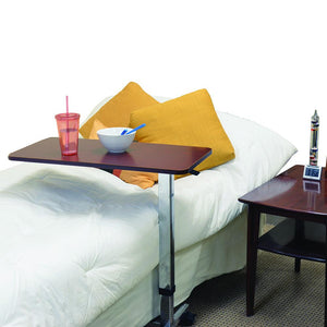 Adjustable Rolling Overbed Table