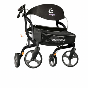 Airgo eXcursion XWD Lightweight Side-fold Rollator