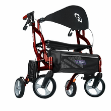 Load image into Gallery viewer, Airgo Fusion F18 Side-Folding Rollator & Transport Chair