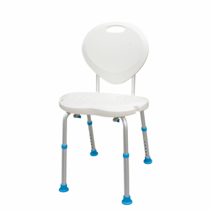 Drive Medical AquaSense Ergonomic Adjustable Bath Seat with Backrest