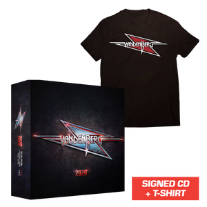 Vandenberg - 2020 (Signed CD Box Set + T-Shirt)