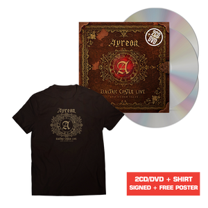 Ayreon - Electric Castle Live And Other Tales (CD/DVD + Poster + T-Shirt)