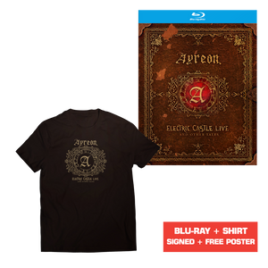 Ayreon - Electric Castle Live And Other Tales (Blu-ray + Poster + T-Shirt)