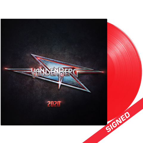 Vandenberg - 2020 (Signed Red Transparent Vinyl)