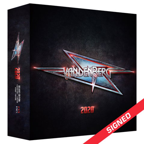 Vandenberg - 2020 (Signed CD Box Set)