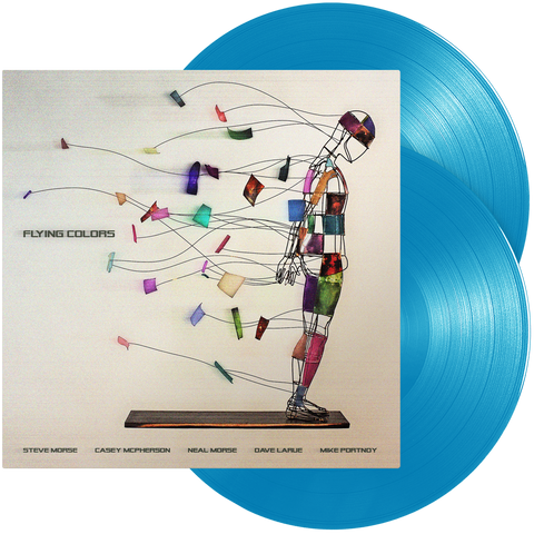 Flying Colors - Flying Colors (Double Light Blue Vinyl)