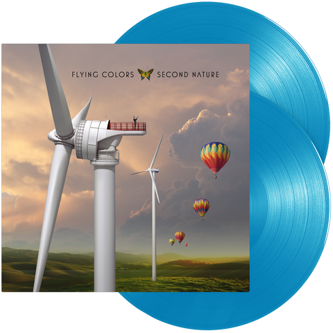 Flying Colors - Second Nature (Double Light Blue Vinyl)