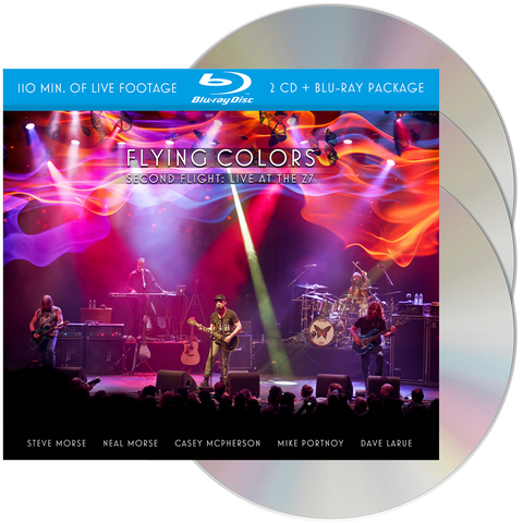 Flying Colors - Second Flight: Live At The Z7 (CD + Blu-ray)