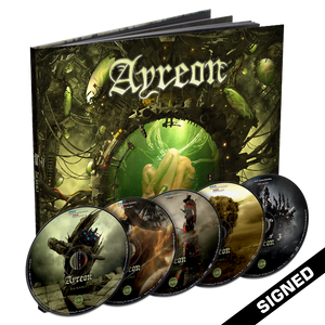 Ayreon - The Source (4CD + DVD Earbook) - Signed
