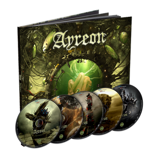 Ayreon - The Source (Limited Edition Earbook 4CD + DVD)