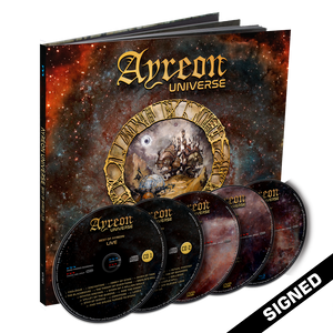 Ayreon - Universe (2CD + 2DVD Earbook) - Signed