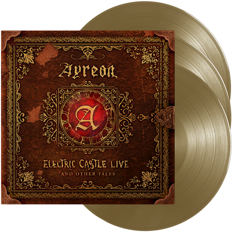 Ayreon - Electric Castle Live And Other Tales (Gold Vinyl)