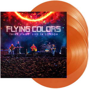 Flying Colors - Third Stage: Live In London (Triple Orange Transparent Viny)