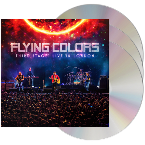 Flying Colors - Third Stage: Live In London (2CD + DVD)
