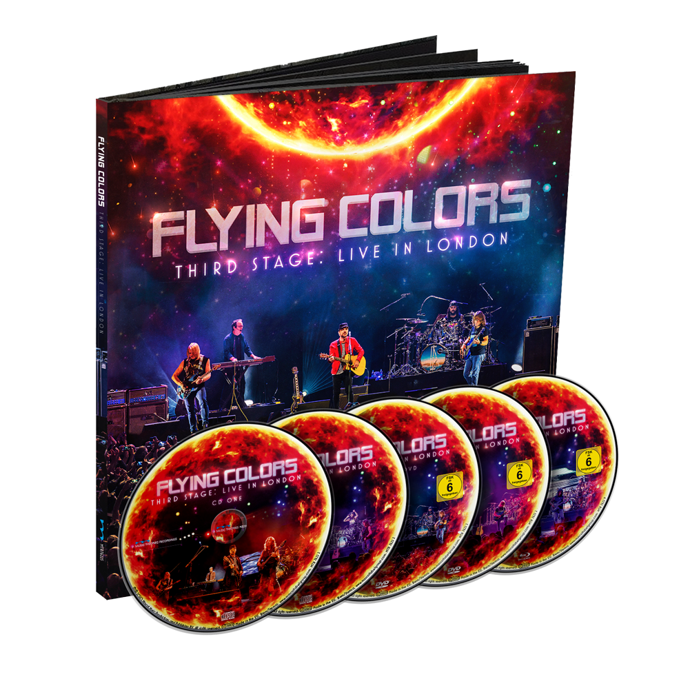 Flying Colors - Third Stage: Live In London (Earbook)