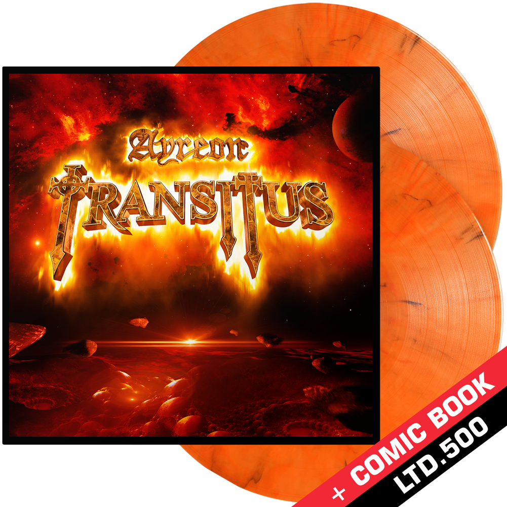 Ayreon - Transitus (Double Orange Marble Vinyl)