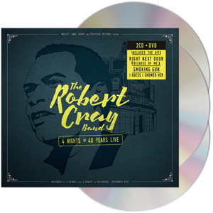 Robert Cray Band - 4 Nights of 40 Years Live (2CD + DVD)