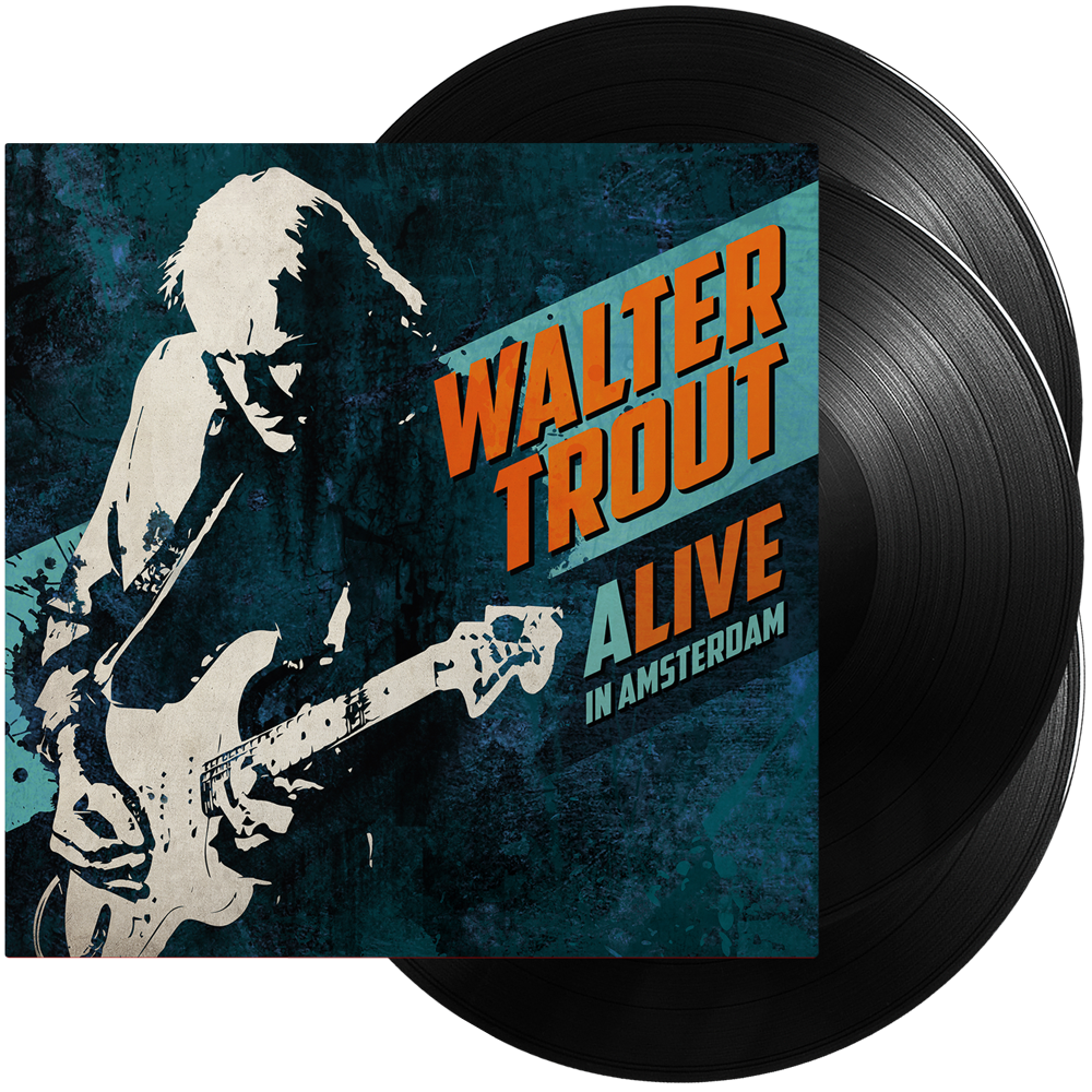 Walter Trout - ALIVE In Amsterdam (Triple Vinyl)