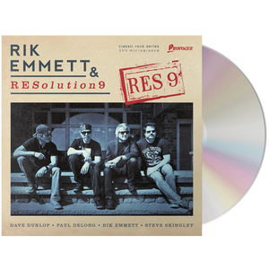 Rik Emmett & RESolution9 - RES 9 (CD)