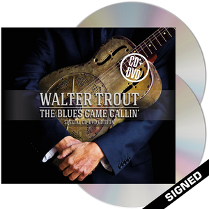 Walter Trout - The Blues Came Callin' (CD + DVD) - Signed