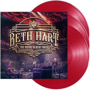 Beth Hart - Live At The Royal Albert Hall (Triple Red Vinyl)