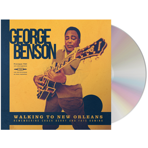 George Benson - Walking To New Orleans (CD)