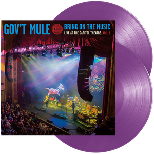 Gov't Mule - Bring On The Music - Live at The Capitol Theatre: Vol. 1 (Double Purple Vinyl)