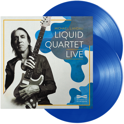 Michael Landau - Liquid Quartet Live (Blue Transparent Vinyl)