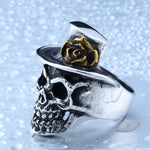Rock´n Roll Skull Ring