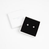 Tiny Penguin Stud Earrings - Silver