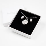 Sunflower Gift Set - Silver