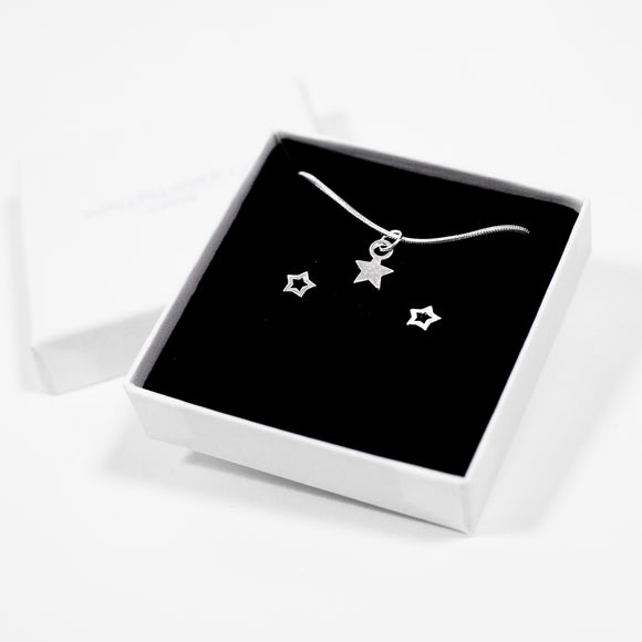 Star Gift Set - Silver