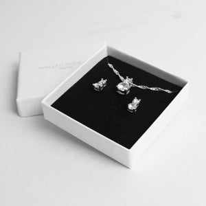 Glitzy Drop Gift Set - Sterling silver