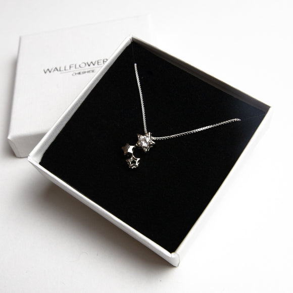 Christmas Star Necklace - Sterling silver