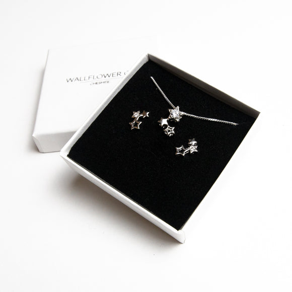 Star Gift Set - Sterling silver
