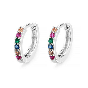 Aria Hoops - Silver