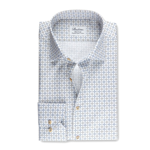 Fitted Body Shirt Printed Pattern