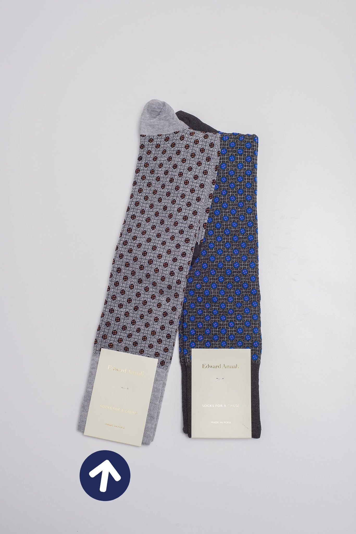 Edward Armah Grey I Sock