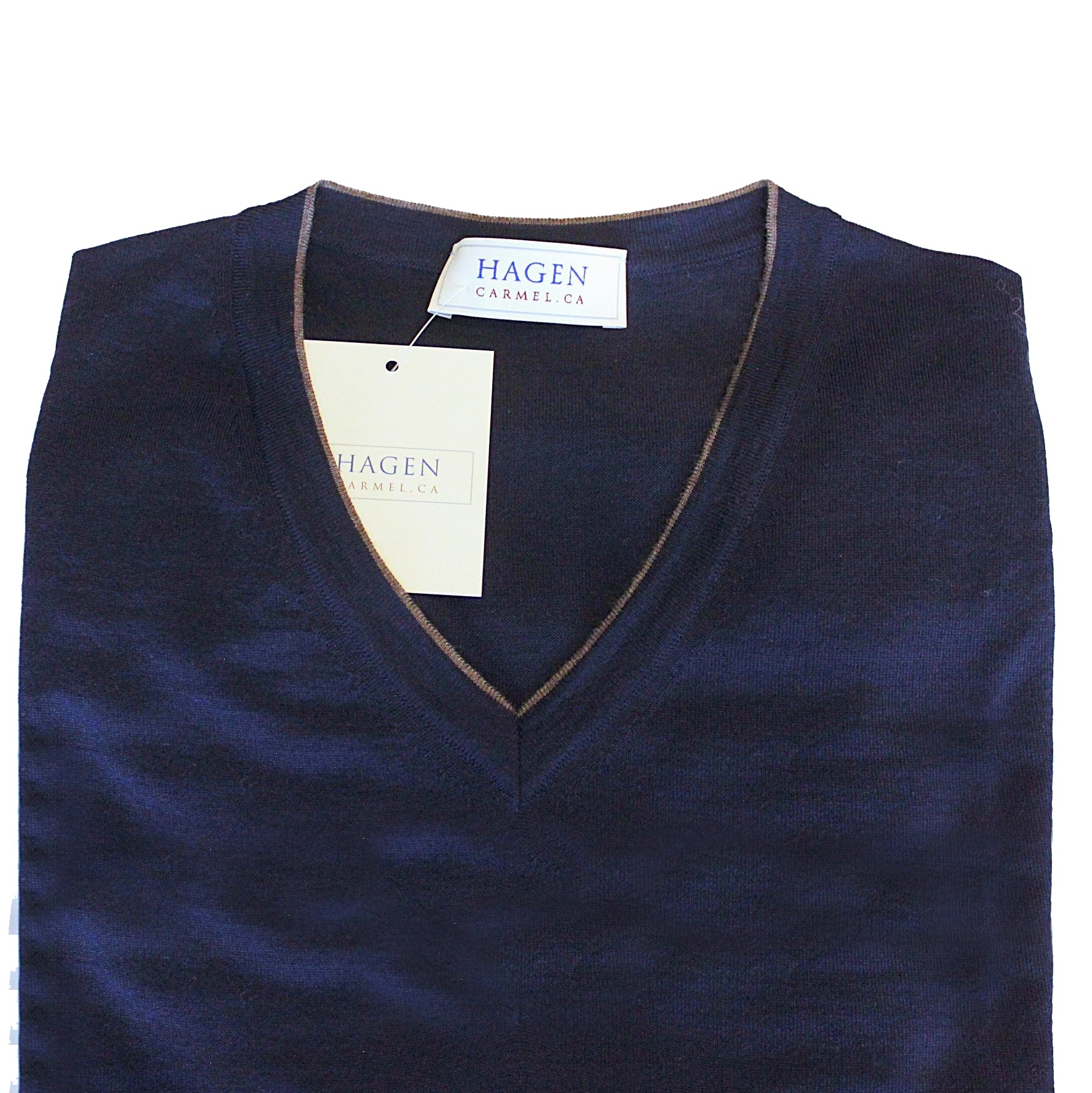 Hagen Navy Sweater