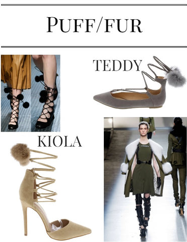 Puff/ Fur Fall 2016 Trends