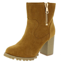 160164 CAMEL WOMEN'S BOOT - Wholesale Fashion Shoes