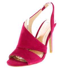 160774 FUCHSIA WOMEN'S HEEL - Wholesale Fashion Shoes