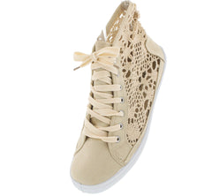 52794 BEIGE FLAT - Wholesale Fashion Shoes