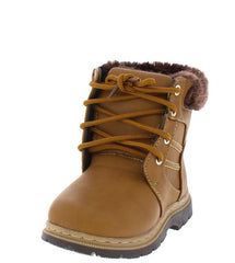 A1KM CAMEL KIDS BOOT - Wholesale Fashion Shoes
